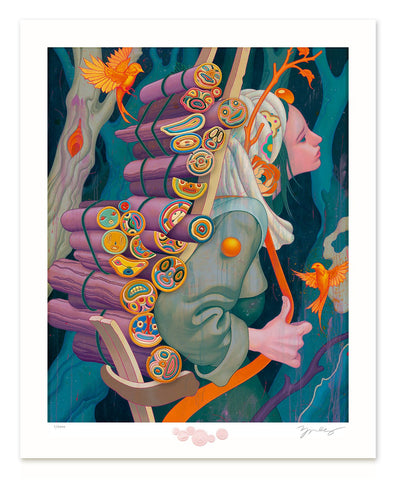 "James Jean - ""Kindling III"" 1st Edition - 2020"