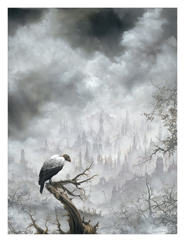 "Brian Mashburn - ""King Vulture"" 1st Edition - 2015"