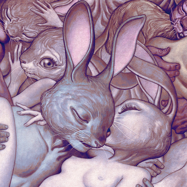 "James Jean - ""Lapins d'Amour"" 1st Edition - 2017"