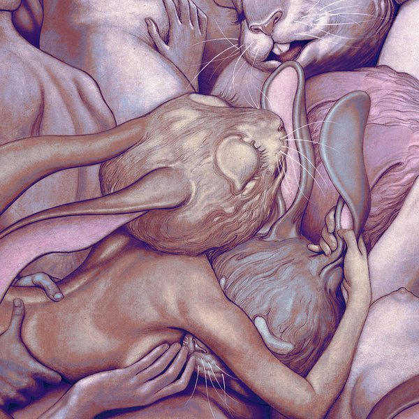 "James Jean - ""Lapins d'Amour"" 1st Edition - 2017 (Detail 2)"