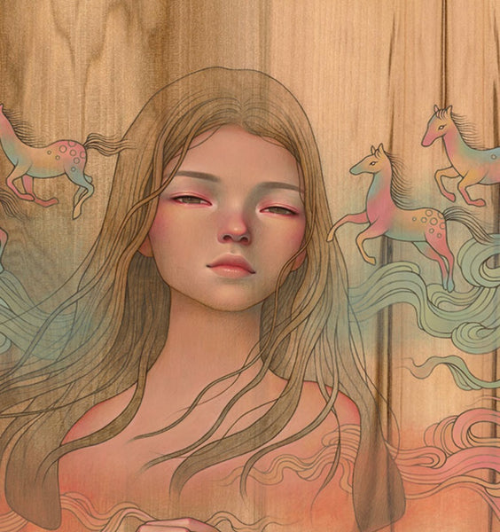 "Audrey Kawasaki - ""Let Them See"" 1st Edition - 2019 (Detail 1)"