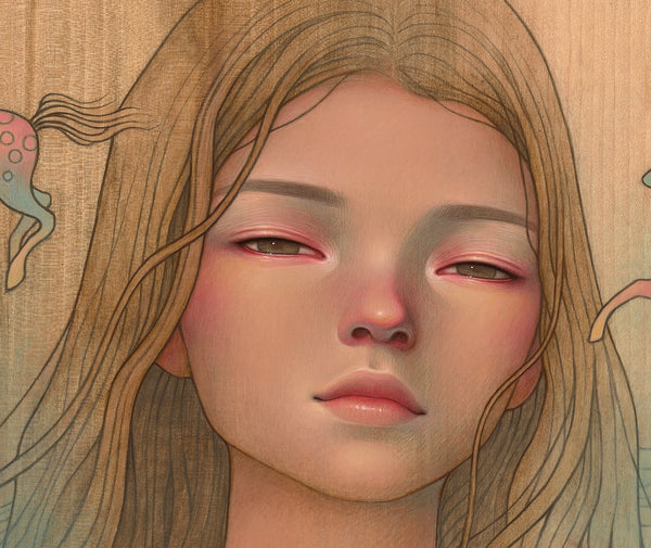 "Audrey Kawasaki - ""Let Them See"" 1st Edition - 2019 (Detail 2)"