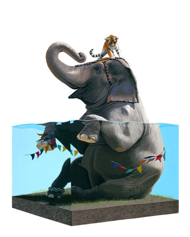 "Josh Keyes - ""Lifted II"" 1st Edition - 2010"