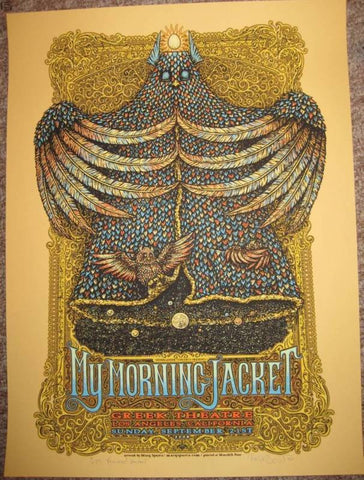 "Marq Spusta - ""My Morning Jacket Los Angeles"" Yellow Variant - 2008"