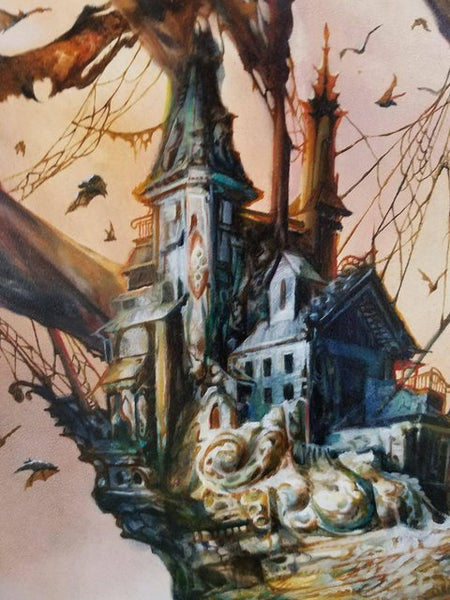 "Esao Andrews - ""Murina's Tomb"" 1st Edition - 2017 (Detail 1)"