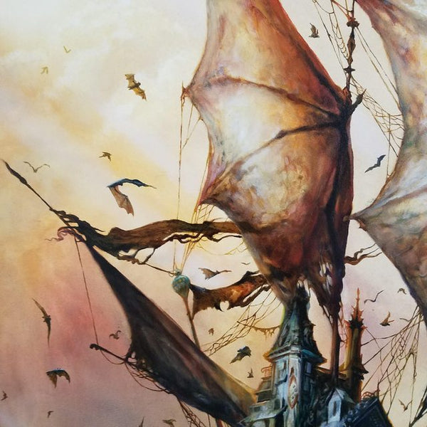 "Esao Andrews - ""Murina's Tomb"" 1st Edition - 2017 (Detail 2)"