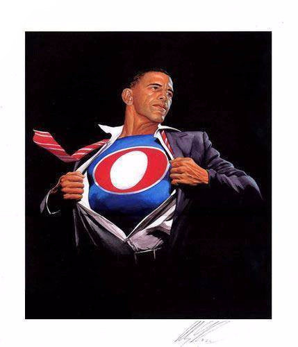 "Alex Ross - ""Obama Time for a Change"" 1st Edition - 2008"