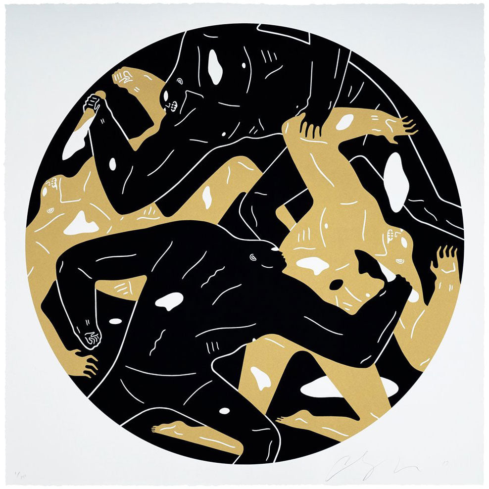"Cleon Peterson - ""Out of Darkness"" Black Edition - 2018"