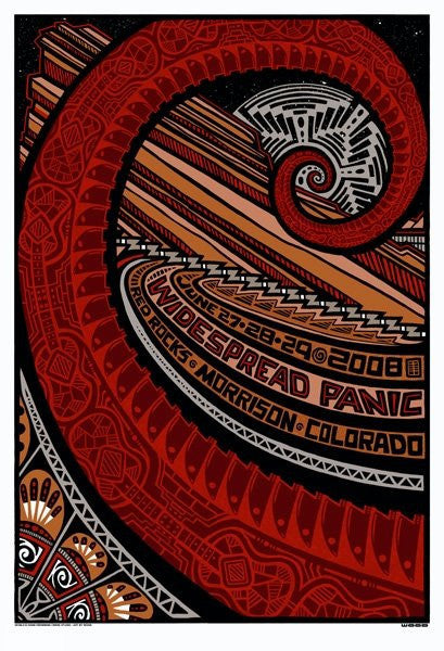 "Jeff Wood - ""Widespread Panic Morrison"" 1st Edition - 2008"
