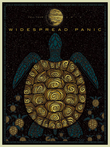 "Todd Slater - ""Widespread Panic Fall Tour"" 1st Edition - 2013"