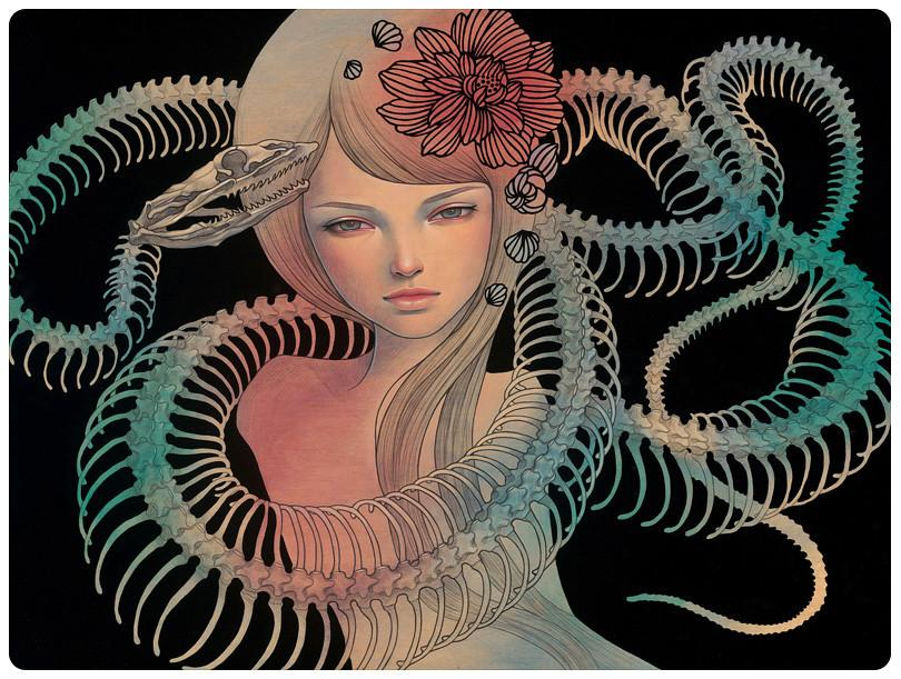 "Audrey Kawasaki - ""Possessed"" 1st Edition - 2012"