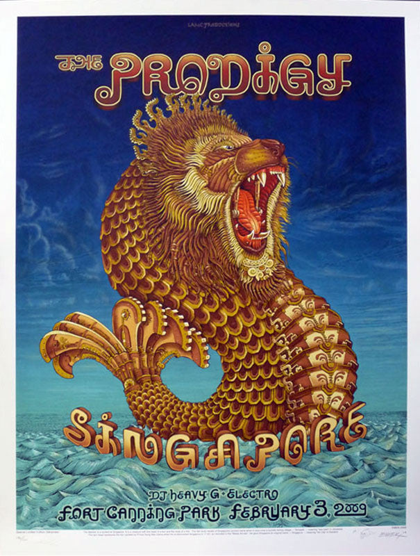 "EMEK - ""Prodigy Singapore"" 1st Edition - 2009"