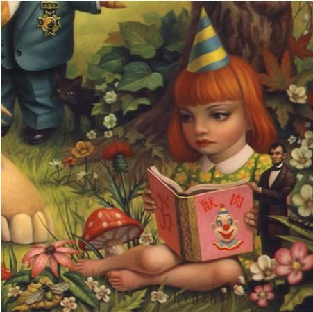 "Mark Ryden - ""Pumpkin President"" 1st Edition - 2008"