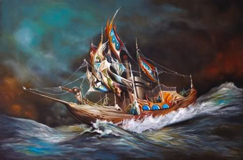 "Esao Andrews - ""Quilted Sails"" 1st Edition - 2010"