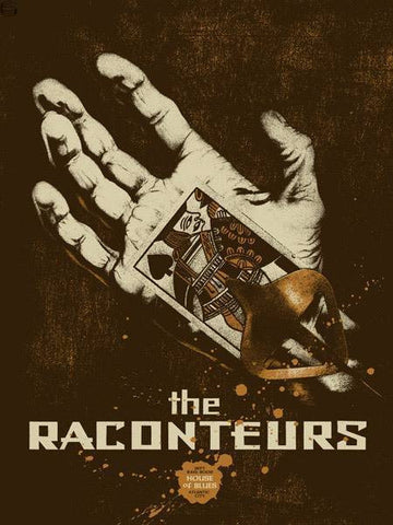 "Rob Jones - ""Raconteurs Atlantic City"" 1st Edition - 2006"