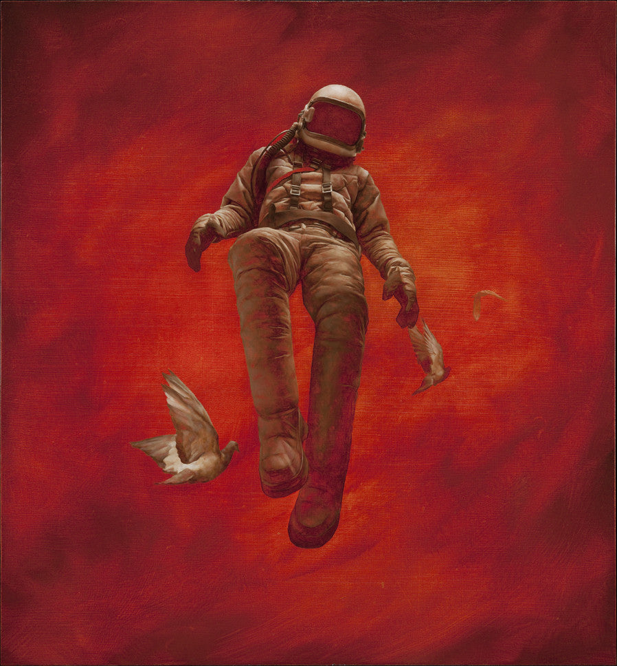"Jeremy Geddes - ""Red Cosmonaut"" 1st Edition - 2009"