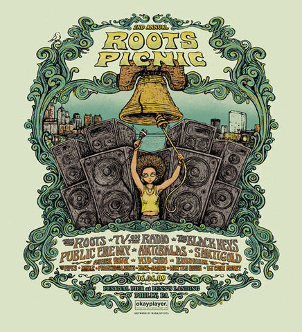 "Marq Spusta - ""2nd Annual Roots Picnic Philadelphia"" Natural Variant - 2009"