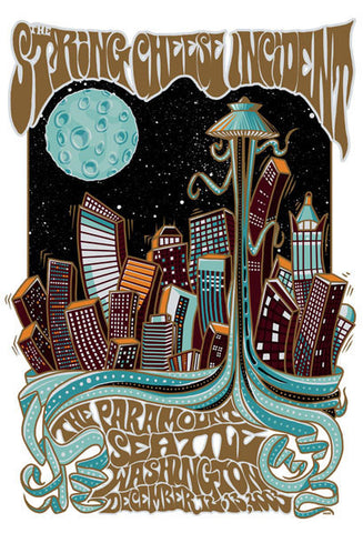 "Jeff Wood - ""String Cheese Incident Seattle"" 1st Edition - 2003"