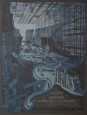 "Aaron Horkey - ""Shellac Minneapolis"" 1st Edition - 2005"
