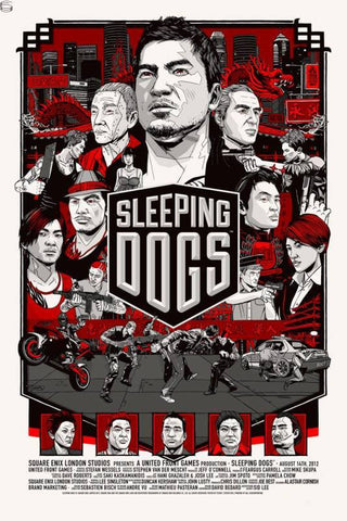 "Tyler Stout - ""Sleeping Dogs"" Prima Games Variant - 2012"