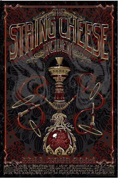 "Jeff Wood - ""String Cheese Incident Fall Tour"" 1st Edition - 2004"