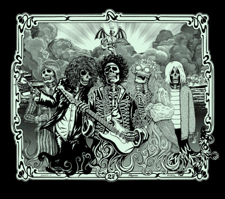 EMEK, Justin Hampton & Jermaine Rogers - The 27 Club Black Glow Edition - 2009