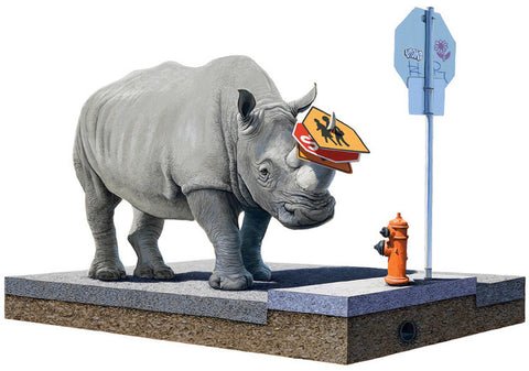 "Josh Keyes - ""The Collector"" 1st Edition - 2012"