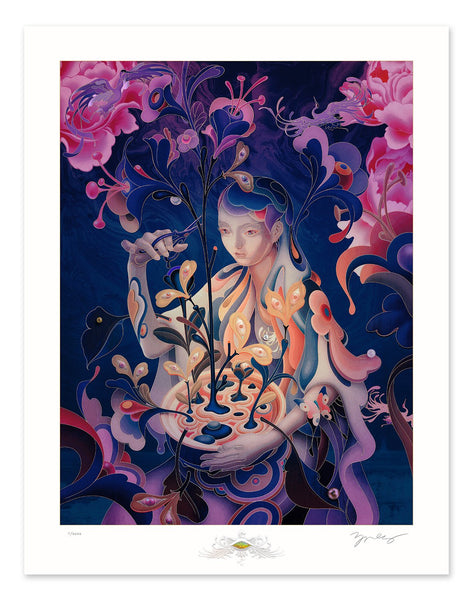 "James Jean - ""The Editor"" Night Mode Edition - 2020"