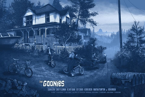 "Kevin Wilson - ""Goonies"" 1st Edition - 2016"