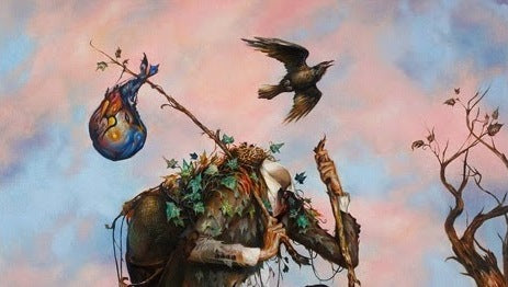 "Esao Andrews - ""The Hiker"" 1st Edition - 2015 (Detail 1)"