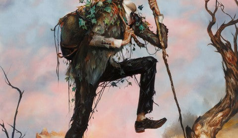 "Esao Andrews - ""The Hiker"" 1st Edition - 2015 (Detail 2)"