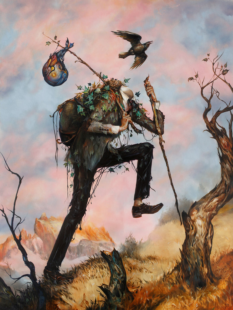 "Esao Andrews - ""The Hiker"" 1st Edition - 2015"