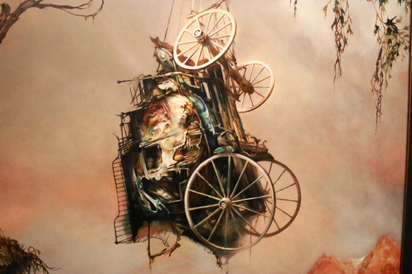 "Esao Andrews - ""The Hostage"" 1st Edition - 2015 (Detail 1)"