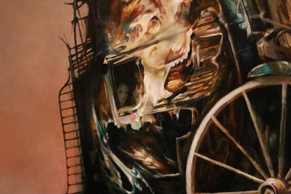 "Esao Andrews - ""The Hostage"" 1st Edition - 2015 (Detail 2)"