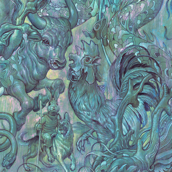 "James Jean - ""Hunting Party II"" 1st Edition - 2017 - Detail 2"