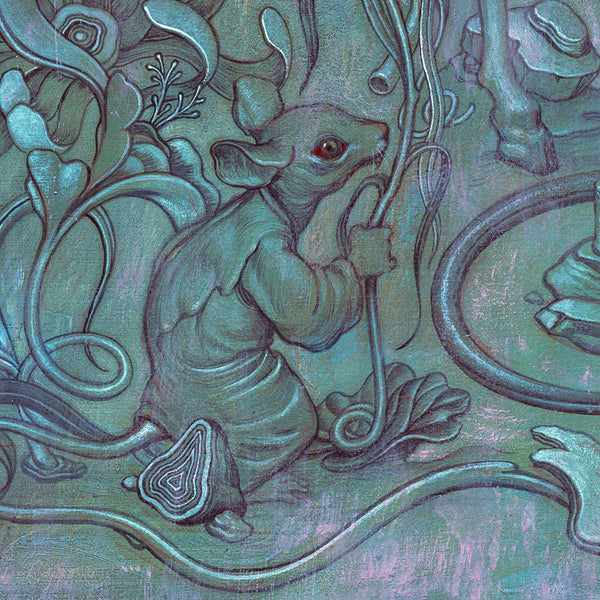 "James Jean - ""Hunting Party II"" 1st Edition - 2017 - Detail 4"