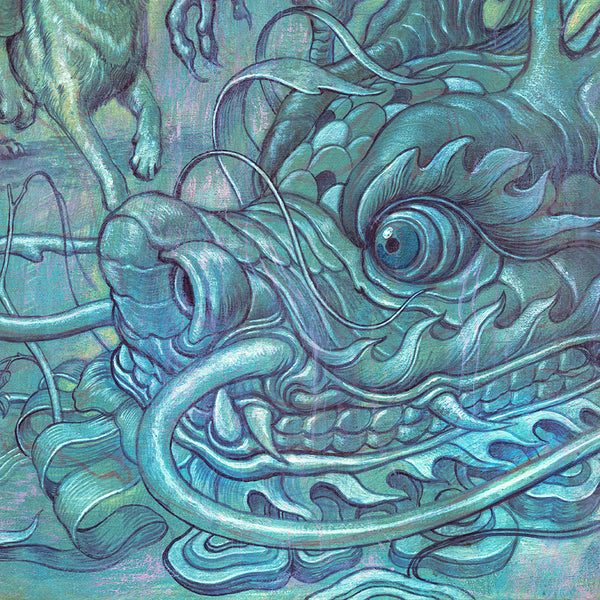 "James Jean - ""Hunting Party II"" 1st Edition - 2017 - Detail 6"
