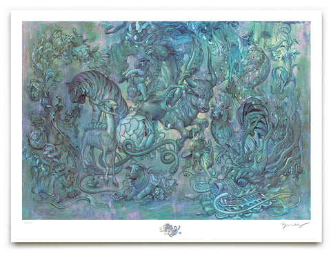 "James Jean - ""Hunting Party II"" 1st Edition - 2017"