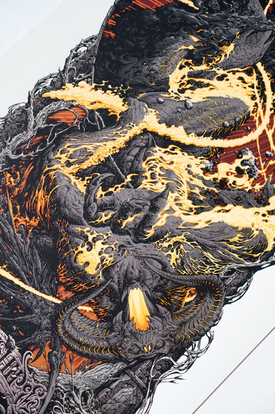 "Aaron Horkey - ""Lord of the Rings: The Fellowship of the Ring"" 1st Edition - 2014 (Detail 1)"