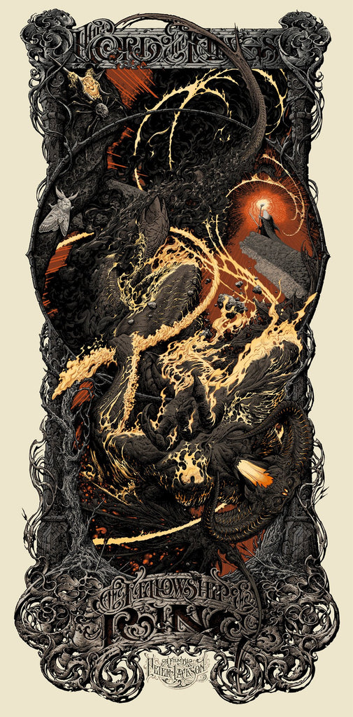 "Aaron Horkey - ""Lord of the Rings: The Fellowship of the Ring"" 1st Edition - 2014"