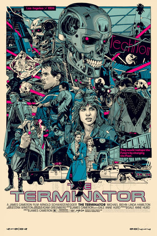 "Tyler Stout - ""The Terminator"" 1st Edition - 2020"