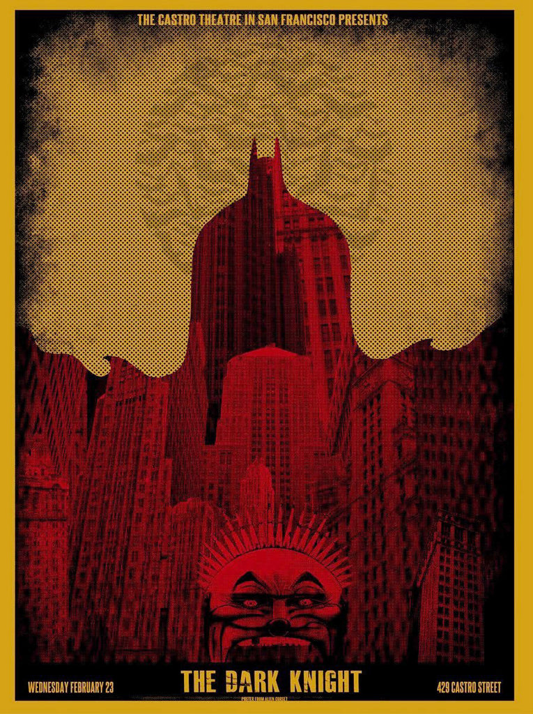 "David O'Daniel - ""The Dark Knight San Francisco"" 1st Edition - 2011"