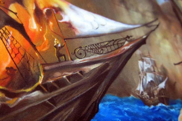 "Esao Andrews - ""The Gypsies Standoff"" 1st Edition - 2014 (Detail 1)"