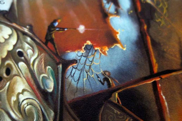"Esao Andrews - ""The Gypsies Standoff"" 1st Edition - 2014 (Detail 2)"