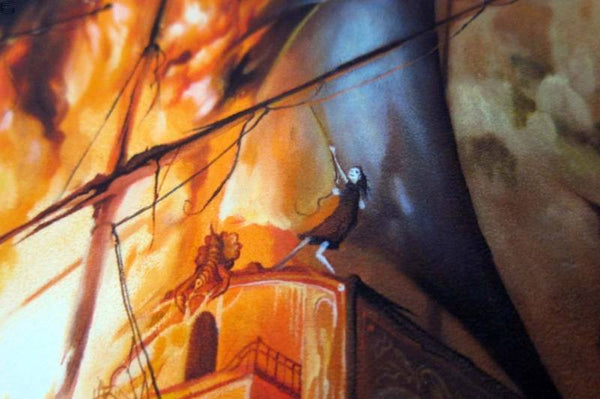 "Esao Andrews - ""The Gypsies Standoff"" 1st Edition - 2014 (Detail 3)"