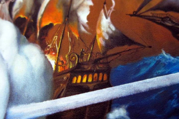 "Esao Andrews - ""The Gypsies Standoff"" 1st Edition - 2014 (Detail 4)"