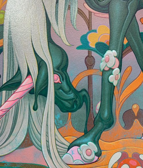 "James Jean - ""Traveler"" 1st Edition - 2018 (Detail 3)"