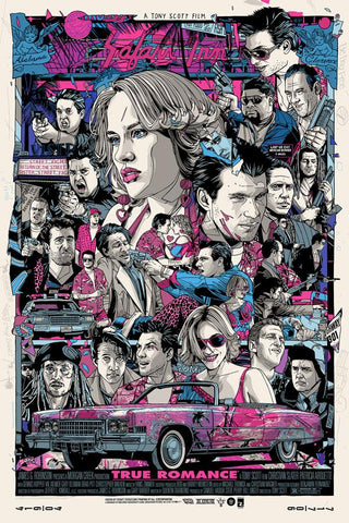 "Tyler Stout - ""True Romance"" Variant Edition - 2018"