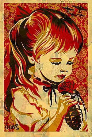 "Shepard Fairey - ""War by Numbers"" Large Offset Edition - 2007"