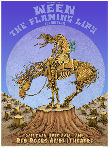 "EMEK - ""Ween / Flaming Lips Morrison 06"" 1st Edition - 2006"